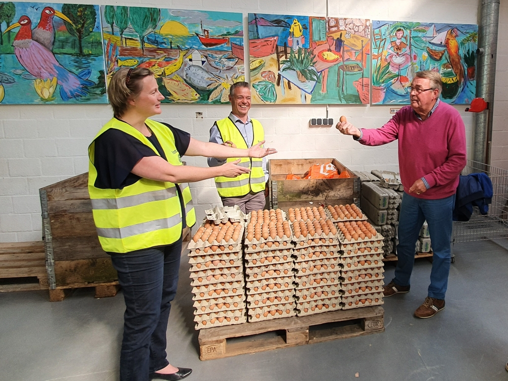 Eierenactie Rotary levert ruim 16.000 euro op